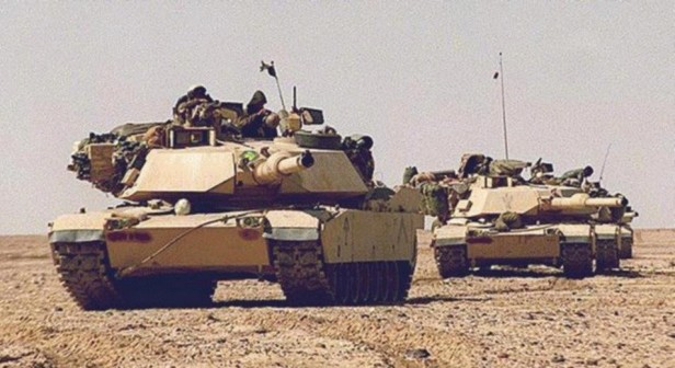 M1 Tanks Iraq 1991