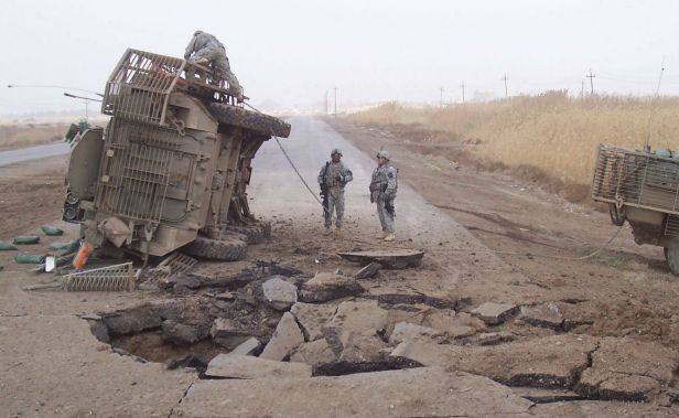 Stryker Iraq IED