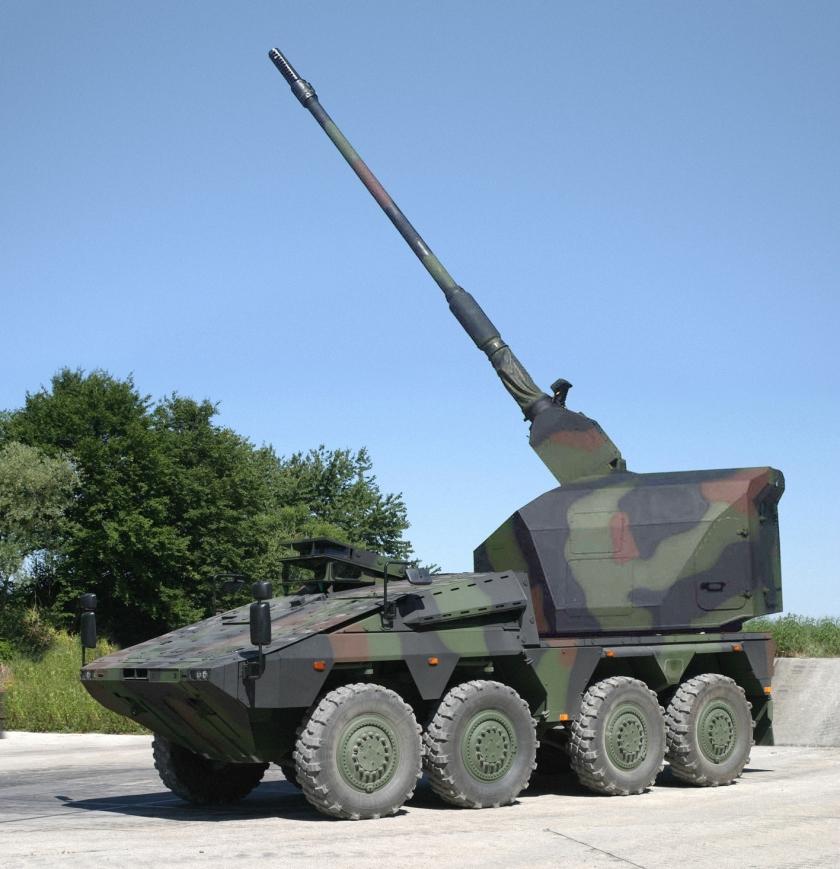 Boxer Artillery 155 RCH