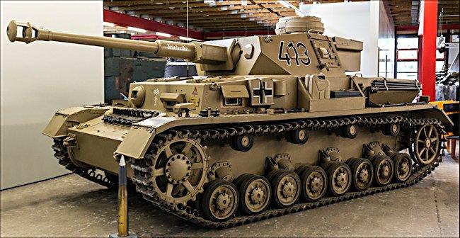 munster-panzer-IV-tank