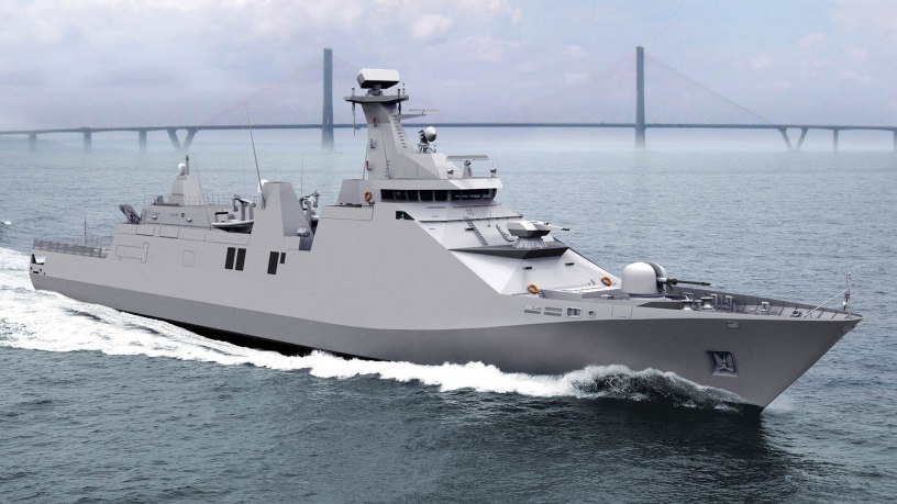 A modern Royal Navy ASW corvette based on the WW2 Flower-Class – UK