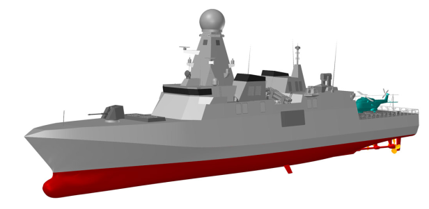 Fincantieri multi-role Corvette