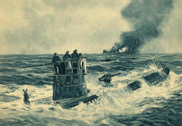 german-u-boat-attack-world-war-ii-science-photo-library