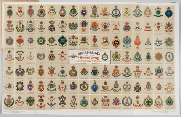 Crests and Badges of the British Army.