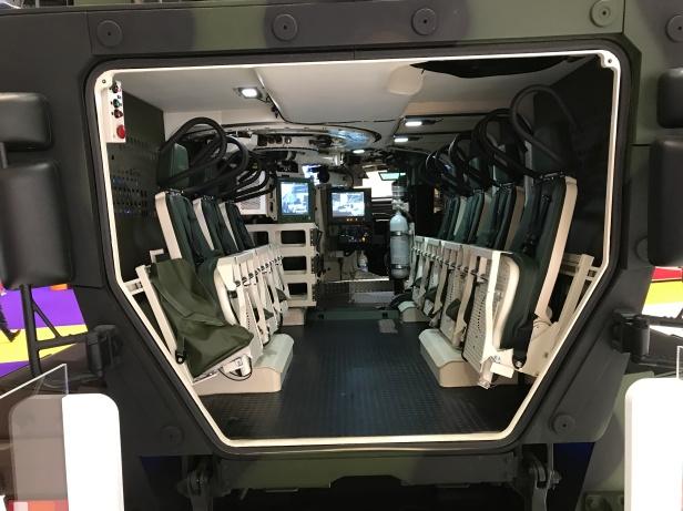 Boxer IFV Puma interior