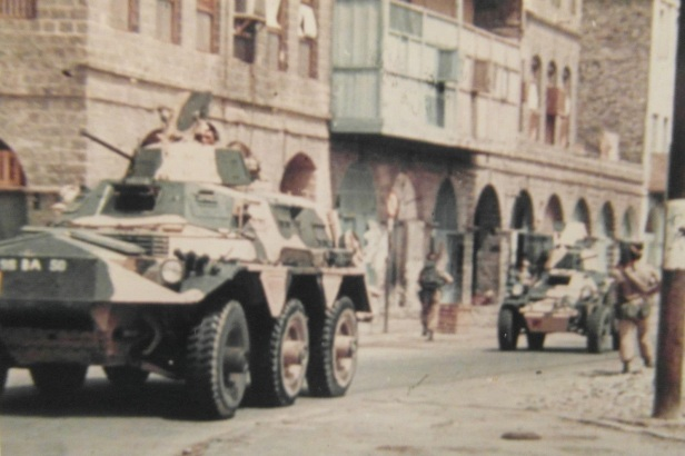 Saracen and Ferret in Aden
